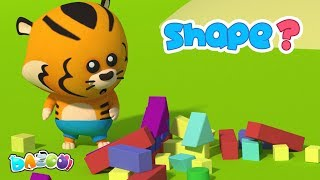 Shapes Song - Dazoo - Kids Star Channel