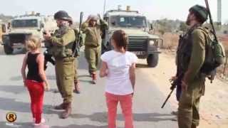 Brave Palestinian girl Ahed Tamimi vs Soldier : Where is my brother ??????