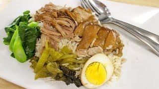 Thai Pork Leg Stew Recipe (Kao Ka Moo) ข้าวขาหมู - Hot Thai Kitchen