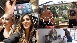 VLOG |Sephora Lansmanı,Damla Makyaj masamı kurcalıyor,Ne giydik?