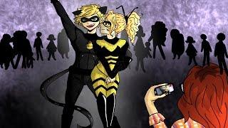 Adrien Chooses Chloe - Miraculous Ladybug [Comic Dub] PART 1