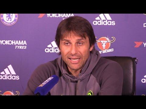 Antonio Conte Full Pre Match Press Conference Everton v Chelsea
