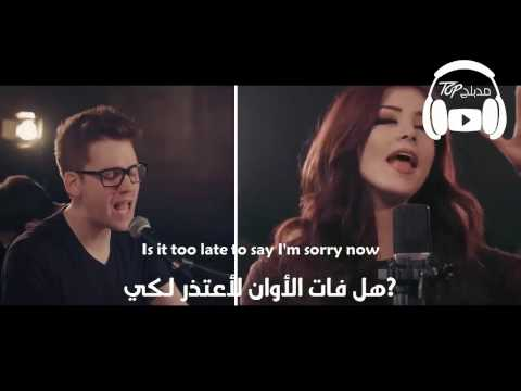 Sorry Against The Current Alex Goot Khs Cover مترجمة عربي