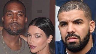 Kanye West BREAKS SILENCE on Kim Kardashian & Drake Rumors