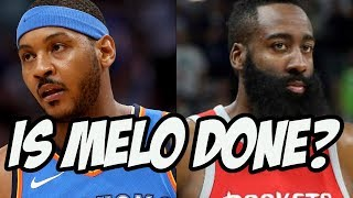 Will Carmelo Anthony Help The Houston Rockets? Is He Done?