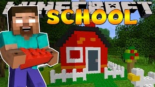 Minecraft School : LEGO BUILDING CHALLENGE!