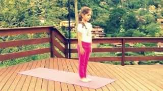 Saudação ao Sol A para Crianças - Alessandra Geraldi, Akshaya Yoga para Crianças
