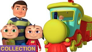 Rig a Jig Jig With Five Little Babies | Zool Babies Songs | Videogyan 3D Rhymes