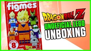 LEGO-DARY SUPER SAIYAN | UNOFFICIAL Lego DBZ Minifigure Unboxing