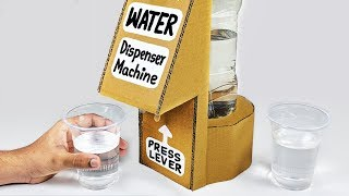 How to make water dispenser at home