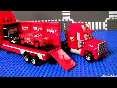 MegaBloks Mack & Lightning McQueen 7769 Disney Pixar Cars Lego Blocks 8486 Mack s Team Truck