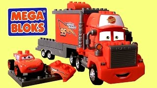 MegaBloks Mack & Lightning McQueen 7769 Disney Pixar Cars Lego Blocks 8486 Mack