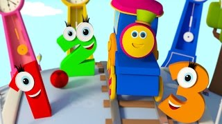 Bob The Train | Learn Numbers | Counting Numbers Song | Songs For Kids by Bob The Train