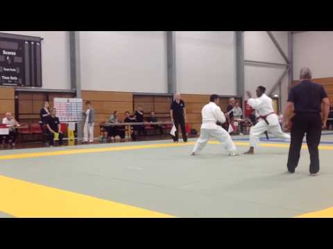 2015 Shodokan world championships men's randori final - fir