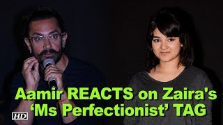 Zaira won 'Ms Perfectionist' TAG from Aamir