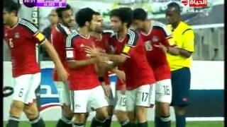 اهداف مباراة منتخب مصر VS تشاد 0/4 ... تصفيات كاس العالم تعليق حازم الكاديكى