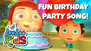 Happy Birthday -  THE BEST Nursery Rhymes and Songs for Children | LooLoo Kids