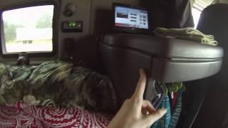 A Bosslady Tour - 2009 International Prostar Sleeper Interior - Herschel