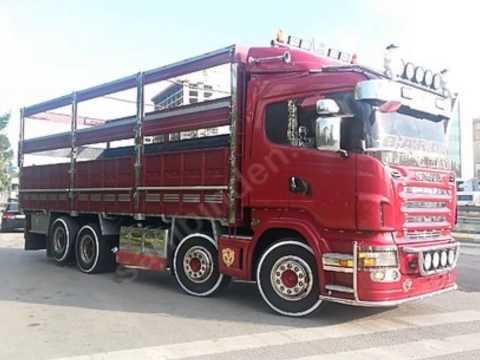 modifiyeli kamyonlar direkkomazer