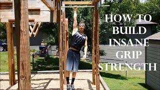 Top 5 Best Exercises For INSANE Grip Strength: Ninja Warrior!