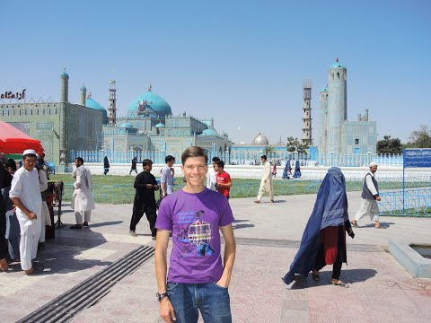 Mazar i Sharif Afghanistan Day 1 Vlog 020
