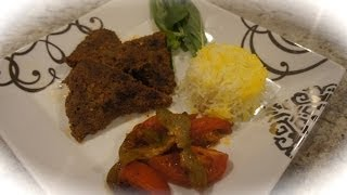 Kabob Tabei , Persian Home Cooking, Kabob Mahetabei , Delicous Easy Recipe