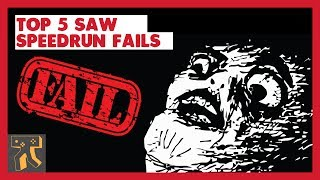 Top 5 SAW: The Game Speedrun Fails!