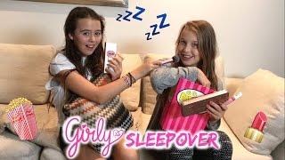 WAT GIRLYS DOEN TIJDENS EEN SLEEPOVER! GIRLYS BLOG