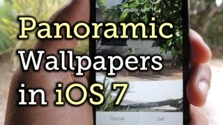 Set a Panoramic Photo as a Live Wallpaper in iOS 7 on Your iPhone [How-To]