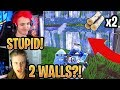 Download Video Download Ninja & Streamers React to *NEW* BUFFED Building (Double Walls) Update!- Fortnite Moments 3GP MP4 FLV