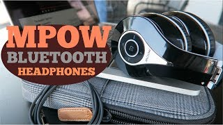 MPOW OVER EAR BLUETOOTH HEADPHONES, BEST BANG FOR YOUR BUCK