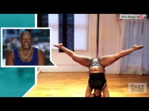 Too fat to pole dance? Roz says it's 'absolute crap'