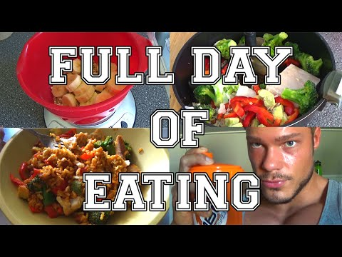 Full Day of Eating 02 Bodybuilding Meals Information Diet Macros Training and More