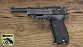 Walther P38 / P1 9mm Pistol Review