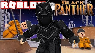 BECOMING BLACK PANTHER IN ROBLOX