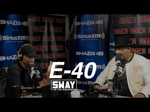 E 40 Freestyles Live For the First Time Reveals He s Sway s Cousin & Breaks Down Recording Process