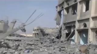VIDEO   Saudi Military Bases Destroyed By Saleh Houthie Forces In Najran