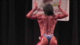 Female bodybuilder Hayley McNeff wins the Maryland State/East Coast Classic overall! 8/8/09