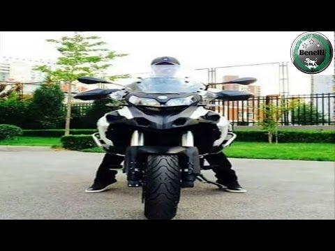 Benelli TRK 502  Full Throttle / Exhaust Sound