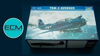 TRUMPETER 1/32 TBM-3 AVENGER INBOX REVIEW