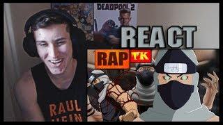 REACT Rap do Kakuzu // Batimento Cardíaco // TK RAPS