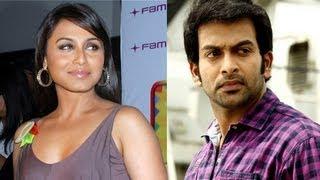 Rani Finds Prithviraj Special, Handsome, Hot