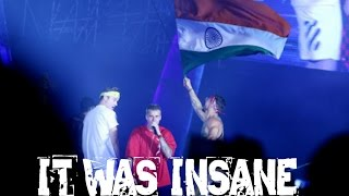 Justin Bieber Full concert In D.Y. Patil Stadium Mumbai for Purpose Tour