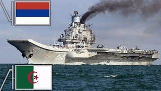 أسطول بحري روسي يجري مناورات في السواحل الجزائرية قبل التوجه لسوريا ؟؟