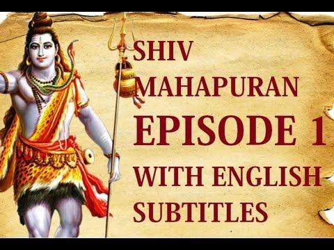 Shiv Mahapuran English Subtitles I  Episode 1 Shrishti Utpatti ~ The Origin Of Life