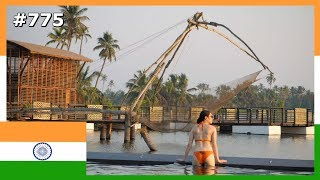 KERALA PARADISE FLOATING RESORT INDIA DAY 775 | TRAVEL VLOG IV