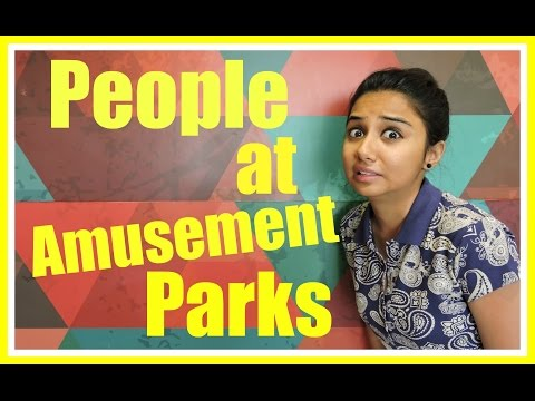 Types Of People at Amusement Parks | MostlySane | Latest Funny Videos