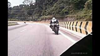 Superbike Cornering at Karak Highway