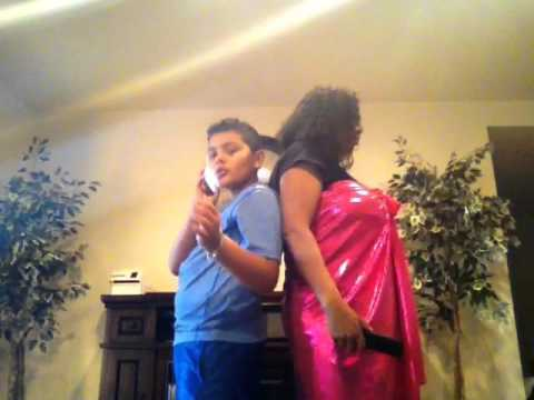 Me and my aunt sing