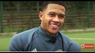 Memphis Depay Latest Interview with Charlie for MUTV at Manchester United